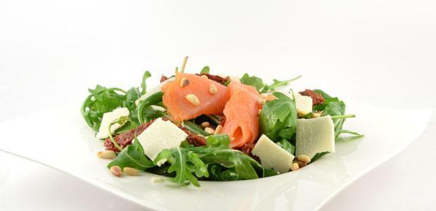 Rucola Salade Gerookte Zalm